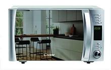 Mikrobølgeovnen med Grill Candy CMXG25GDSS 25 L 1000W Rustfrit stål