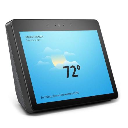 Amazon Echo Show Gen 2 Smarte hjem-kontroller Svart