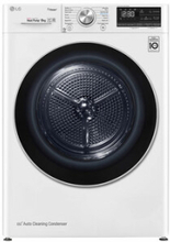 LG S0RV708N1W9 Kondenstørretumbler - Hvid