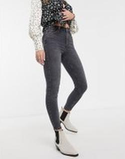 Topshop – Jamie – Svarta skinny jeans