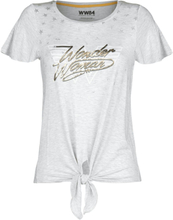 Wonder Woman - 1984 - Stars -T-skjorte - hvitmelert