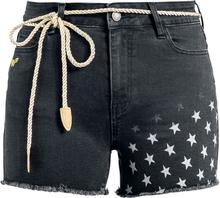 Wonder Woman - 1984 - Stars -Shorts - svart