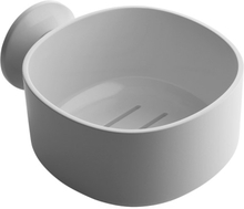 Alessi - Birillo Badeværelse Skål med sugekop, Hvid