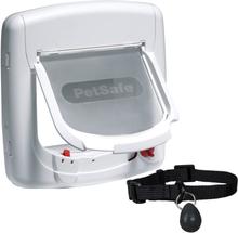 Kattelem Petsafe® Staywell® 400 Deluxe (4-vejs-lukning) - Kattelem, hvid