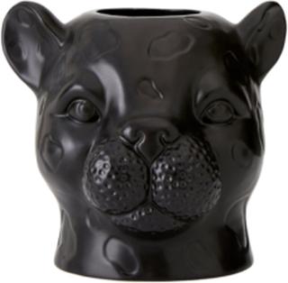 Vase Leopard høyde 20 cm