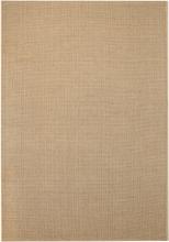 vidaXL Matta sisallook inomhus/utomhus beige 120x170 cm