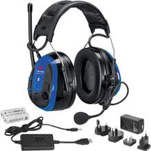 3M Peltor WS Alert XPI Hörselskydd med Bluetooth och mobilapplikation, hjässbygel, laddpaket