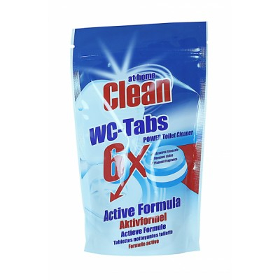 At Home Clean WC-Tabs Power Toilet Cleaner 6 stk