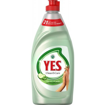 YES Clean & Care Astianpesuaine Aloe Vera 480 ml