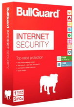 BullGuard Internet Security 2019 - 3 enheter