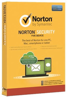 Norton Security Deluxe - 5 enheter / 1 år