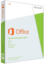 Microsoft Office 2013 Home and Student - (Windows)