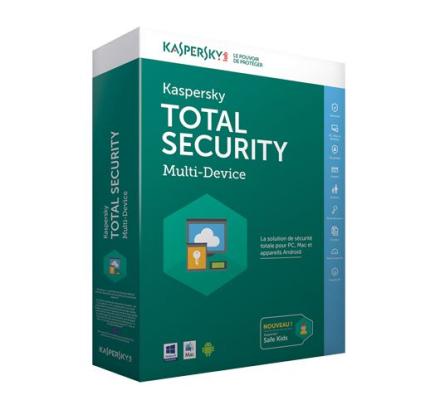 Kaspersky Total Security Multi-Device 2018 - 10 enheter / 1 år