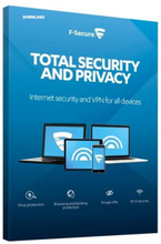 F-Secure Total Security and Privacy 2019 - 3 enheter