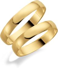 Schalins Förlovningsring 18k Guld Tusenserien 1007-3,5