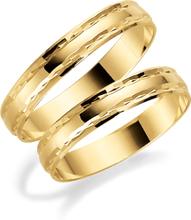 Schalins Förlovningsring 18k Guld Tusenserien 1000-3,5