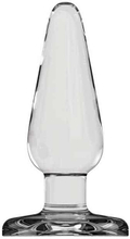 Buttplug, large - glas