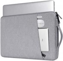 INF Laptopveske 14,1 tommers lerret - grå