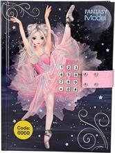 Fantasy Model Dagbok med Kodelås Balet