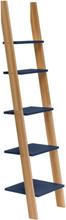 ASHME Leiterregal 45x35x180cm - Marineblau - Marineblau