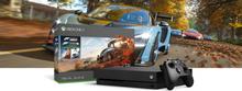 Pakiet z konsolą Xbox One X o pojemności dysku 1 TB i grą Forza Horizon 4
