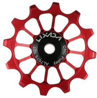 Lixada Cykel Bagskifterhjul 12T MTB Rulleleje Jockey Hjul Cykeldele