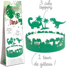 Cake wrapper kit - Dinosaurier