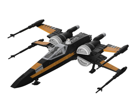 Modellbyggsats Star Wars - 1/78 Poe's Boosted X-Wing Fighter