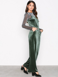 Only onlMILA Velvet Jumpsuit Tlr Jumpsuits
