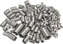 150pcs Stainless Steel Thread Repair Insert Kit M3 M4 M5 M6 M8 Helicoil Rivet Nut Kit