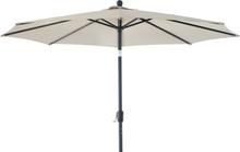Taranto parasoll Antracit/beige 3 m
