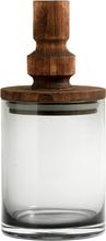 Nordal salvie glas opbevaring med låg - 25 cm