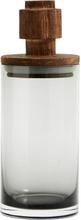 Nordal salvie glas opbevaring med låg - 27 cm