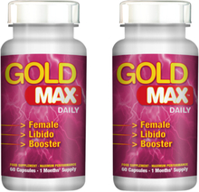 Gold MAX PINK Daily 120kaps-utökad lust