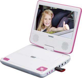 Lenco DVP 710 Pink