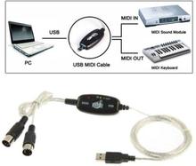 USB till MIDI Keyboard adapter
