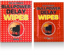 Bull Power Wipes Delay Sachets