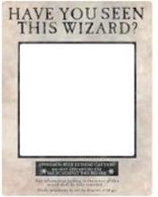 Harry Potter Poster mit weißem Selfie-Rahmen