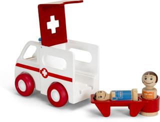 Ambulance med ljus- och ljud, My Home Town, BRIO (30381)