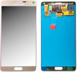 Skärm LCD komplett set GH97-16565 C guld för Samsu