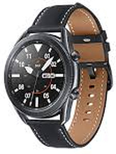 Galaxy Watch Bluetooth + 4G 42mm Sort Læderrem sort