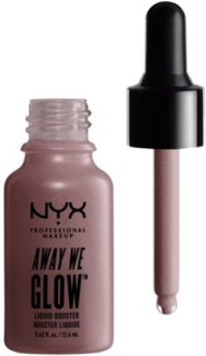 NYX Professional Makeup Away We Glow Liquid Booster Highlighter Glazed