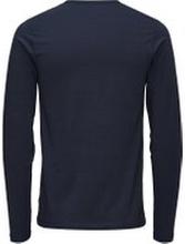 JACK & JONES Enkel Långärmad T-shirt Man Blå