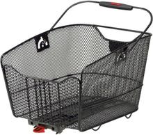 KlickFix City Max Basket För Racktime black 2020 Cykelkorgar för pakethållare