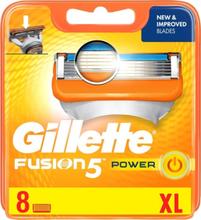 Gillette Partaterät Fusion Power 8 kpl