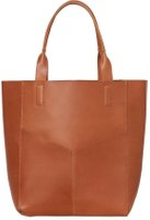 PIECES Shopper Tasche Damen Braun