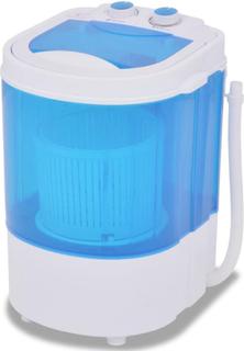 vidaXL Minivaskemaskin enkeltkar 5,6 kg