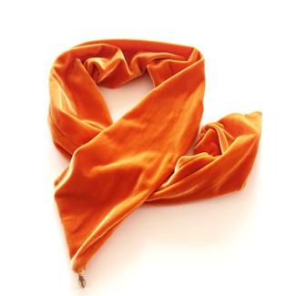 Hårbånd velur wire - Orange