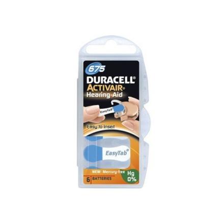 Duracell Batteri Activair 675 6 st