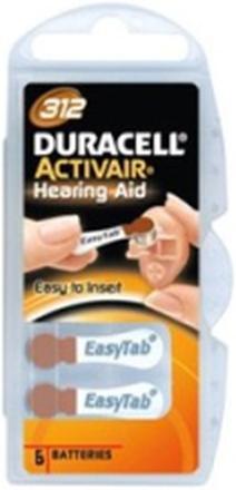 Duracell Batteri Activair 312, 6 st